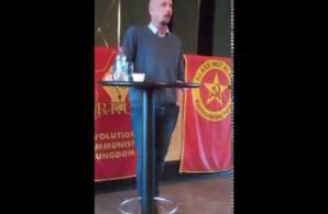 Robert Mathiasson talar i Helsingborg